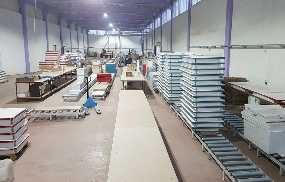 Furniture production line