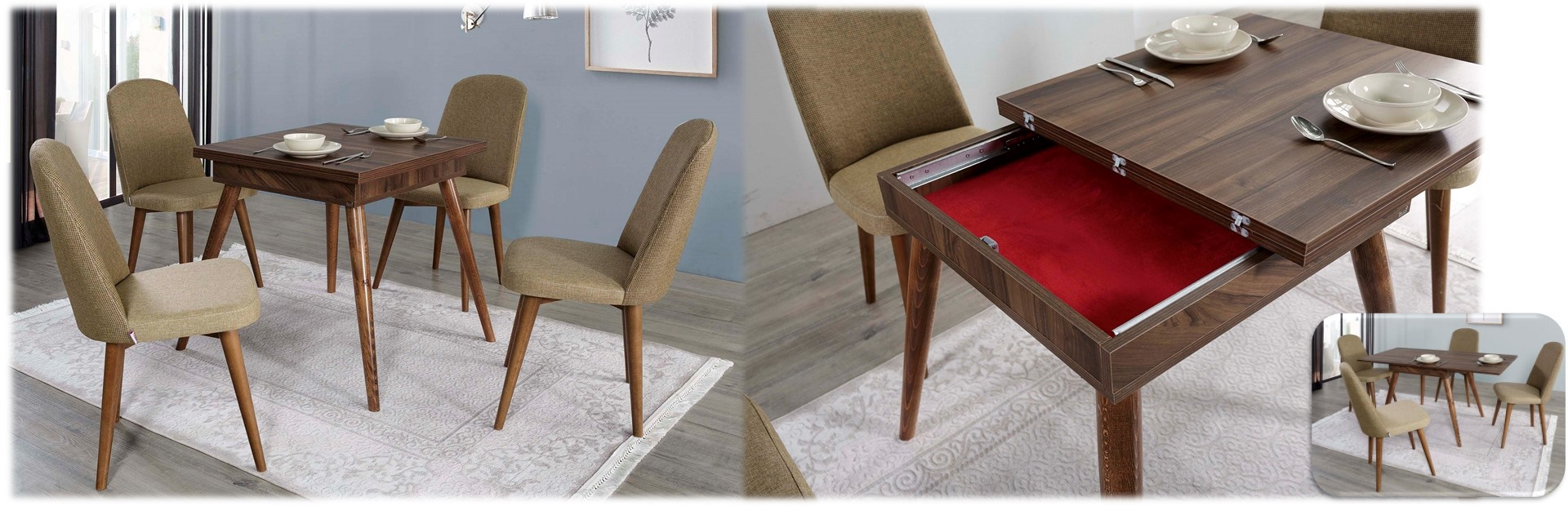 Sweety Folding Table