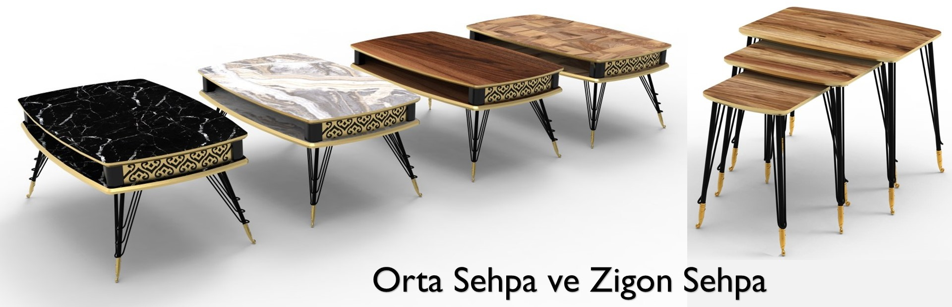 Coffee Tables & Tea Table sets